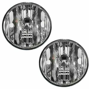 Fog Driving Lights Lamps Left Right Pair Set Kit For 01 03 Toyota Highlander