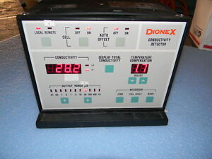 Dionex Conductivity Detector Cmd 1 Thermo
