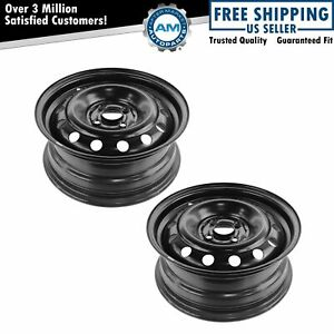 Dorman 15 Inch 4 Lug Steel Replacement Wheel Rim New Pair For 01 05 Civic El