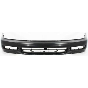Front Bumper Cover For 1996 1997 Honda Accord With Fog Lamp Holes 04711sv4a90zz