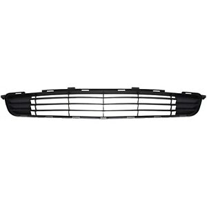 Bumper Grille For 2009 2010 Toyota Corolla Center Textured Black Plastic