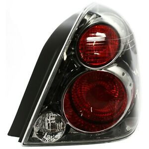 New Tail Light Smoked For 2005 2006 Nissan Altima Passenger Side S Se Sl Models