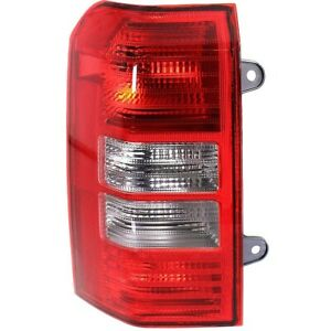 Tail Light For 2008 2016 Jeep Patriot Driver Side Assembly