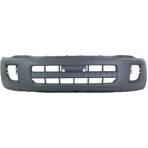 Bumper Cover For 2001 2003 Toyota Rav4 With Fender Flare Type Front Textured