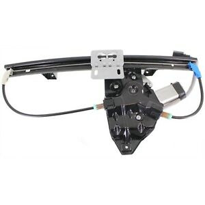 Power Window Regulator For 2002 2005 Land Rover Freelander Rear Right With Motor