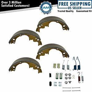 Rear Brake Shoes Hardware Spring Pin Set Kit For Chevy Gmc Buick Olds Pontiac