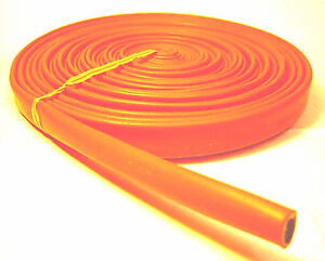 Vulcan Orange Heat Protector Silicone Spark Plug Wire Sleeve 25 Made In The Usa