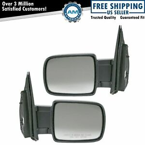 Folding Power Side View Mirrors Left Right Pair Set For 03 11 Honda Element