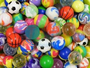 100 27mm Bouncy Balls For Vending Or Party Favors 15 95 Buy Now