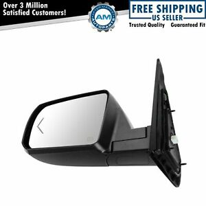 Mirror Power Folding Heated Turn Signal Chrome Driver Side Lh For Tundra Sequoia
