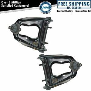 Front Upper Control Arms W Ball Joints Left Right Pair Set For Ford Mercury
