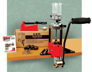 Lee Lee90928 Deluxe 4-Hole Turret Press Kit With Auto Index