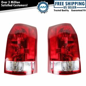 Taillight Taillamp Pair For Saturn Vue 2002 2003 2004 07