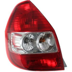 Tail Light For 2007 2008 Honda Fit Driver Side Lens And Housing