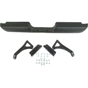 Step Bumper For 94 2001 Dodge Ram 1500 94 02 Ram 2500 Black W Brackets