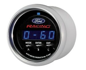 Ford Racing Autometer 2 1 16 52mm Information Gauge 880089 M 10898 cpic