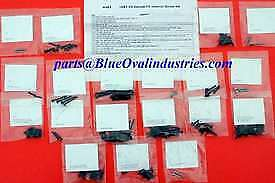 1987 1993 Ford Mustang Lx Gt Hatchback Interior Hardware Screws Kit 150 Pieces