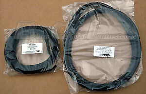 1979 1993 Mustang Sunroof Rubber Weatherstrip Seal Kit 2pc