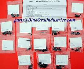1987 1993 Mustang Lx Gt Convertible Interior Hardware Screws Kit 116 Pieces