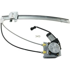 Power Window Regulator For 2002 2006 Jeep Liberty Rear Driver Side With Motor