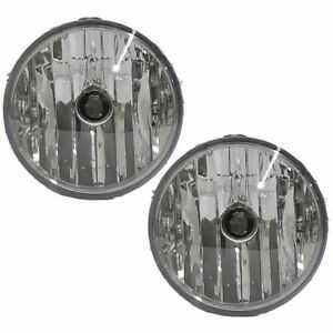 Fog Driving Lights Lamps Left Right Pair Set For Ford F150 Lightning Aviator