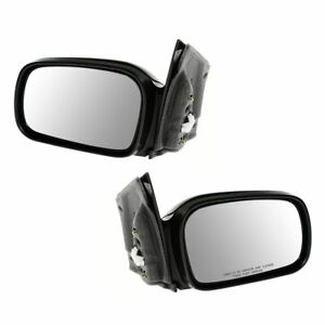 Power Heated Mirror Driver Passenger Pair For 06 11 Honda Civic 2dr Coupe