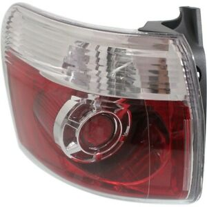 Taillight Taillamp Outer Driver Side Left Lh Lr For 07 12 Gmc Acadia New