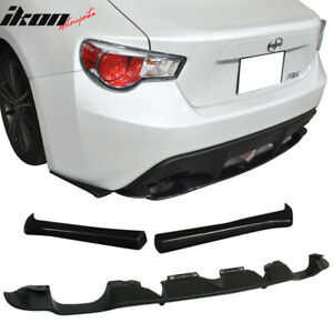Fits 13 18 Subaru Brz Frs Gt86 Oe Rear Bumper Diffuser Lip cs Bottom Line Apron
