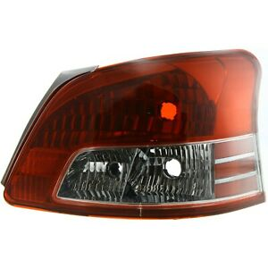 Tail Light For 2007 2011 Toyota Yaris Rh Sedan With Sport Package