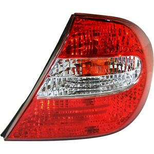 Tail Light For 2002 2004 Toyota Camry Passenger Side