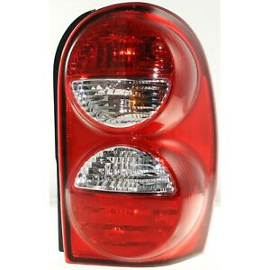 Tail Light Passenger Side W O Guard For 2005 07 Jeep Liberty Exc Renegade Model