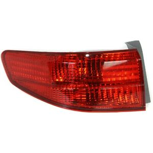 Tail Light For 2005 Honda Accord Lh Outer Sedan