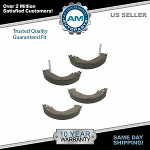 Nakamoto Rear Drum Brake Shoes Kit Set For Chevy Colorado Gmc Canyon Isuzu