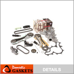 97 09 Ford Explorer Mercury Mazda 4 0l Sohc Timing Chain Gmb Water Pump Kit