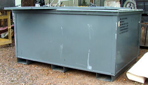 99 Cubic Foot Big Foam And Poly Lined Steel Shipping Type Container
