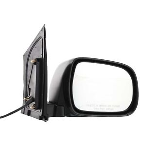 Power Mirror For 2004 2010 Toyota Sienna Passenger Side Textured Black