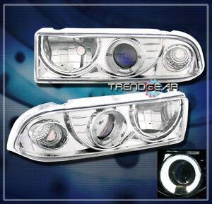 1998 2004 Chevy Blazer S10 Pickup Halo Projector Headlights 2000 2001 2002 2003