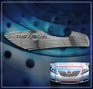 For 2007 2008 2009 Toyota Camry Upper Billet Grille Grill Insert Ce Le Se Xle