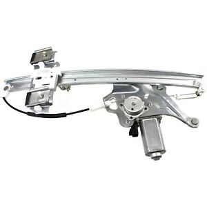 Power Window Regulator For 2000 2005 Buick Lesabre Front Driver Side With Motor