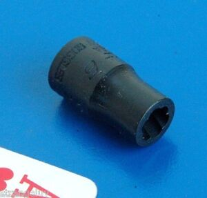 Blue Point 1 4 Drive 6mm Shallow Twist Impact Socket Wrench New Discontinued