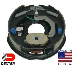2 X Dexter 3500 Trailer Axle Brake Kit 10x22 Electric Backing Plate Complete