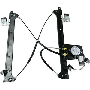 Power Window Regulator W Motor Rear Driver Side Left Lh For Chevy Gmc Cadillac