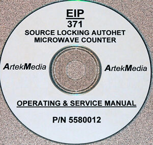 Eip 371 Microwave Counter Operating And Service Manual