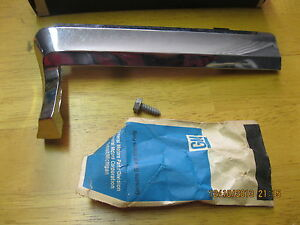 1969 Cadillac Lh Fender Molding Gm Nos 363137 Cadillac Deville And Seville