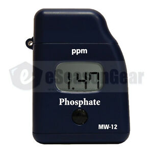 Milwaukee Mw12 Phosphate Low Rang Mini colorimeter handy Photometer tester meter