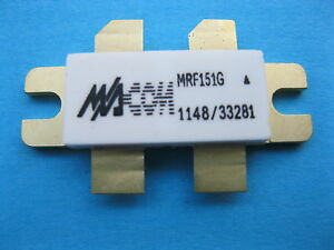 2 Pcs Transistor Motorola Mrf151g Power Mosfet N channel