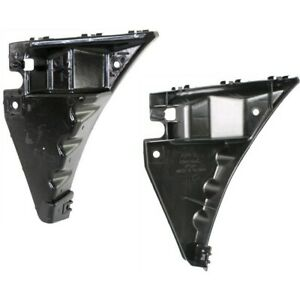 Bumper Retainer Set For 2010 2014 Ford Mustang Front Plastic Primed 2pc
