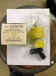 Woodhead Watertite Plug 28 W08 30 Amp