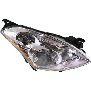 Headlight For 2010 2011 2012 Nissan Altima Right Clear Lens With Bulb