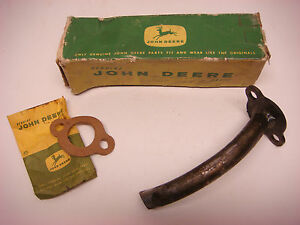 Nos John Deere Part No At11989 Exaust Pipe Tube Jd063 Tractor Farm Vintage